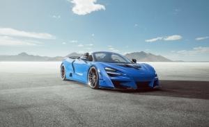Novitec N-Largo, espectacular la última propuesta sobre el McLaren 720S Spider