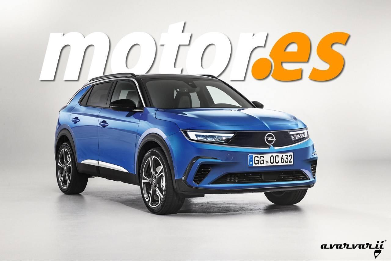 opel mokka x 2021 adelanto de la nueva generación del