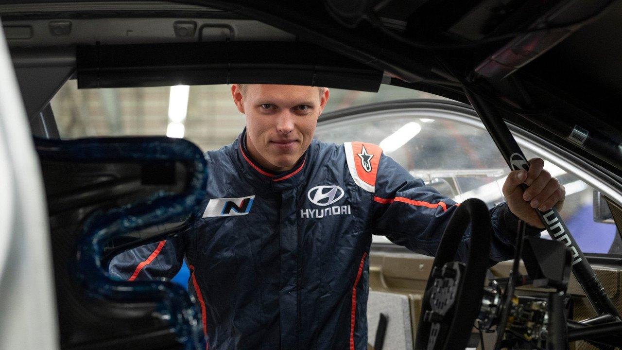 Ott Tänak estrena los colores de Hyundai con la entrada de 2020