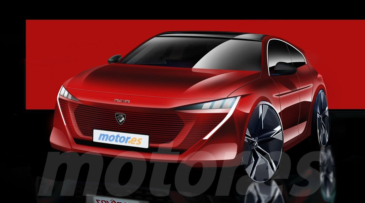 Nuevo anticipo del futuro Peugeot 308, el compacto francés debutará en 2021
