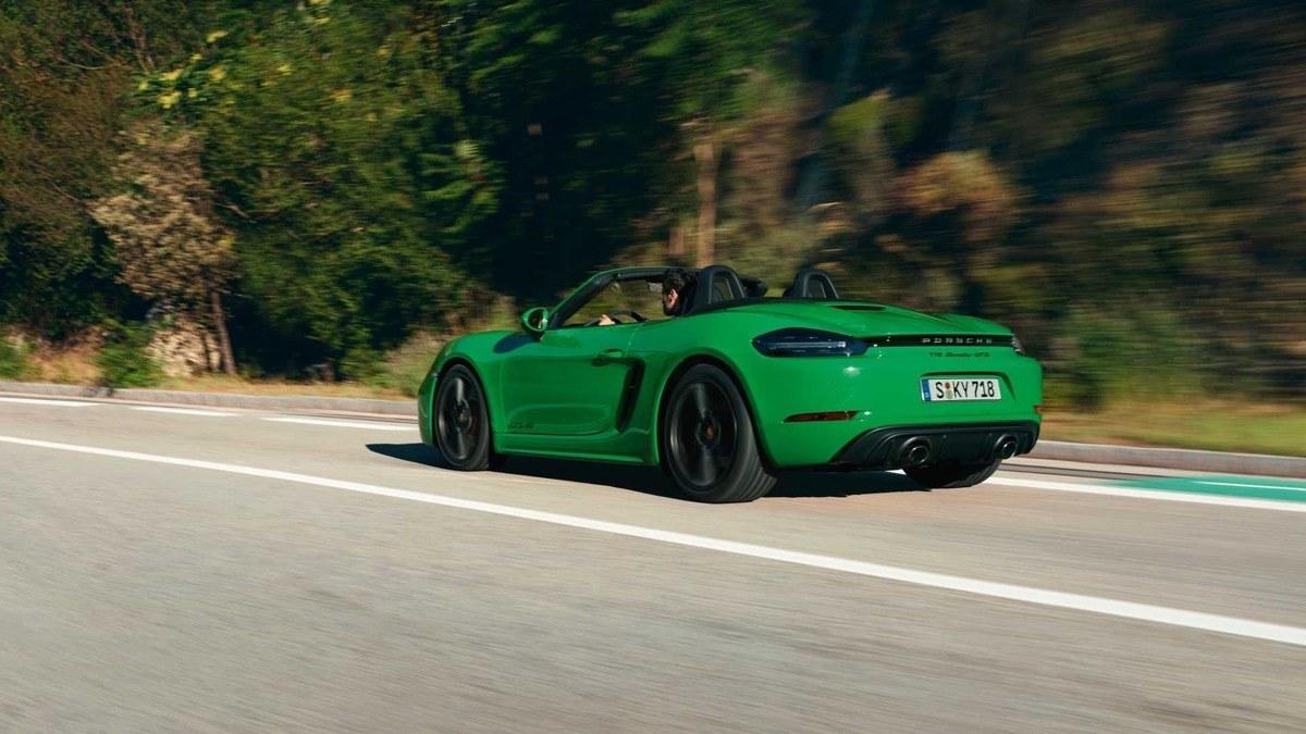 Porsche 718 GTS 4.0: ahora con seis cilindros, atmosféricos y más potentes