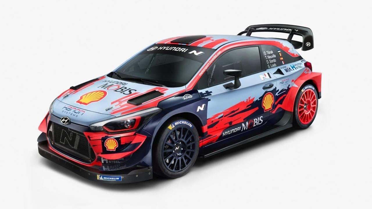 Se presenta la nueva imagen del Hyundai i20 WRC Coupé para 2020