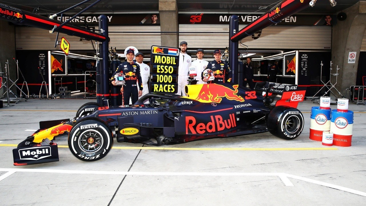 Red Bull extiende su contrato con ExxonMobil