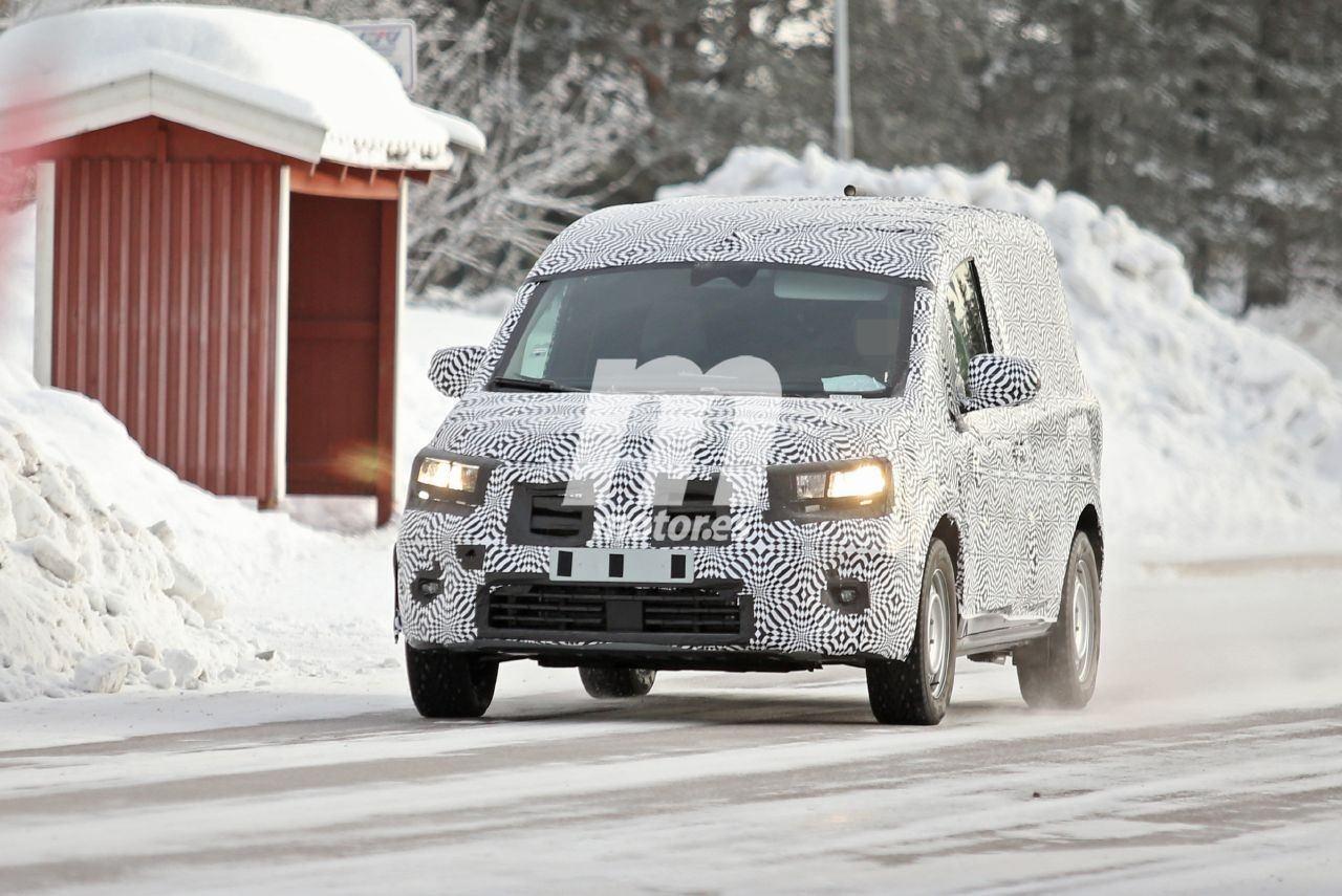 El nuevo Renault Kangoo 2020 posa en nuevas fotos espía en las pruebas de invierno
