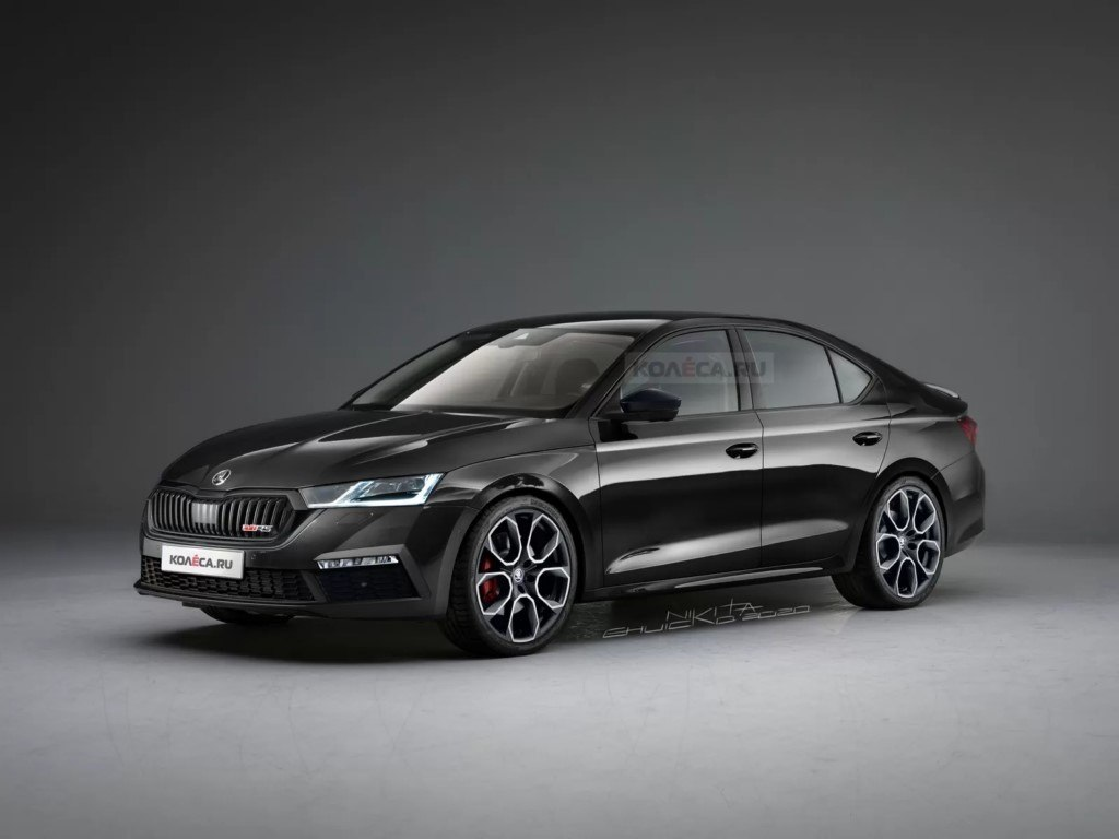 Una nueva recreación adelanta el Skoda Octavia RS, que llegará antes de finales de año