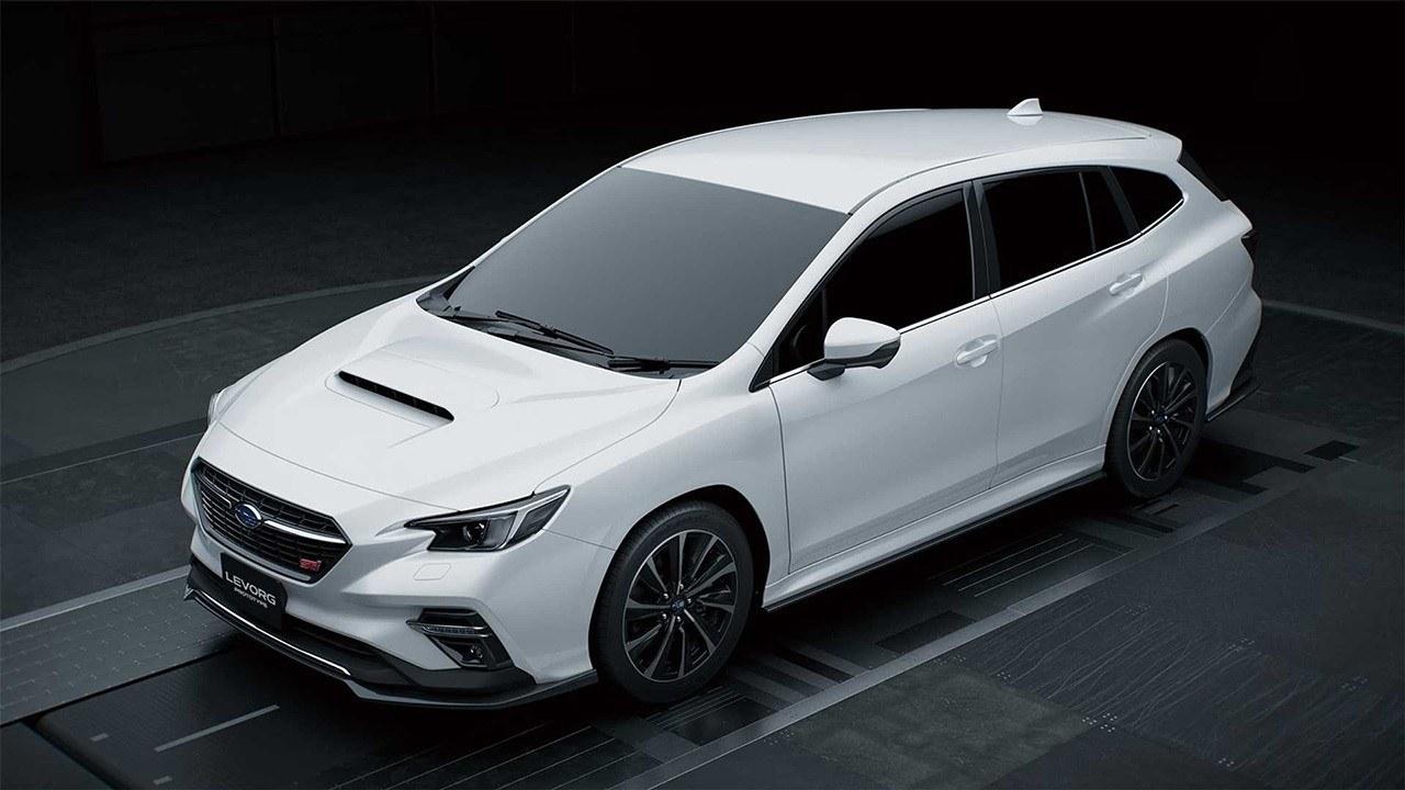 Subaru Levorg STI Sport Prototype, vislumbrando la próxima generación