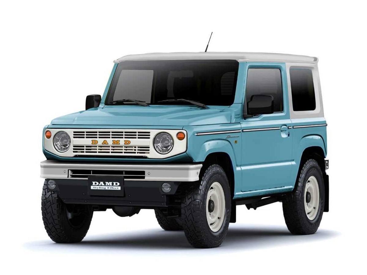 El Suzuki Jimny más cool de DAMD se inspira en el Ford Bronco clásico