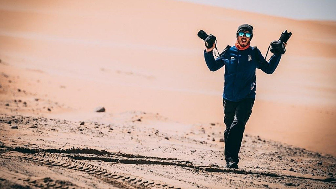 «Volando voy»: así fue la experiencia de Charly López en el Dakar