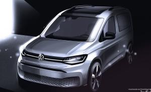 Nuevos bocetos avanzan el debut del Volkswagen Caddy 2020, el comercial compacto