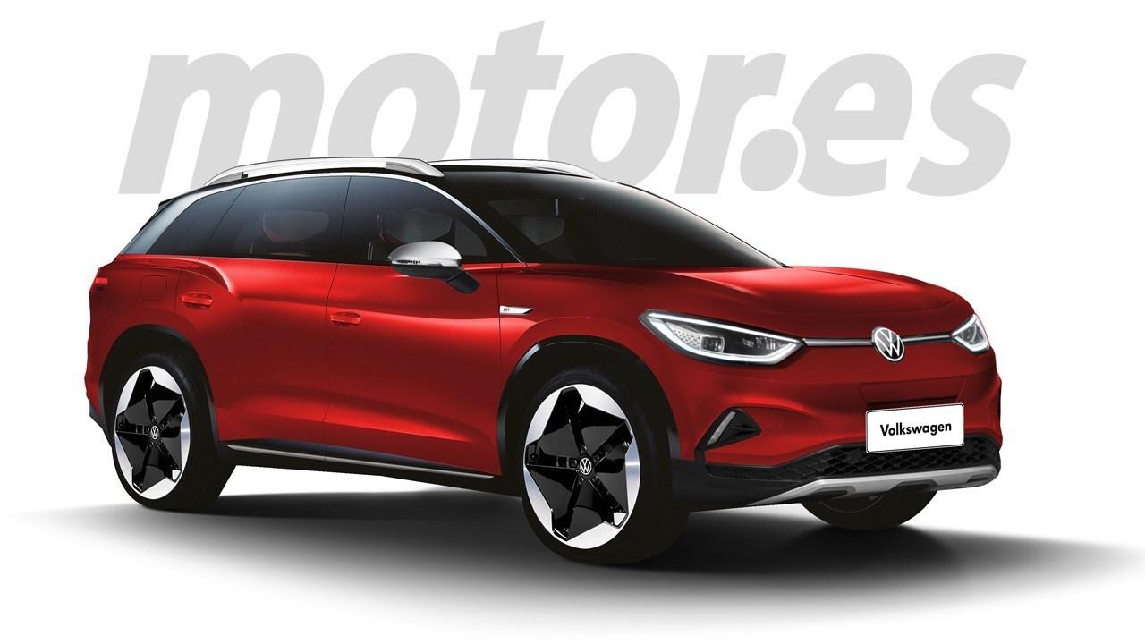 Volkswagen ID.6, anticipo exclusivo del SUV eléctrico de siete plazas que debutará en 2022