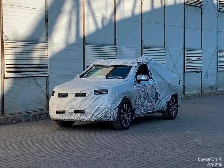 Comienza a rodar el nuevo Volkswagen Tayron Coupé, primeras fotos espía del modelo para China