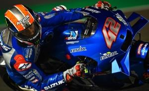 Álex Rins cierra el primer día del test MotoGP de Qatar en cabeza