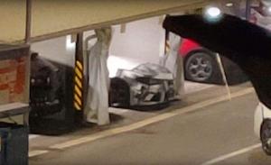Cazan al nuevo Alfa Giulia GTA en la fábrica de Maserati en Módena