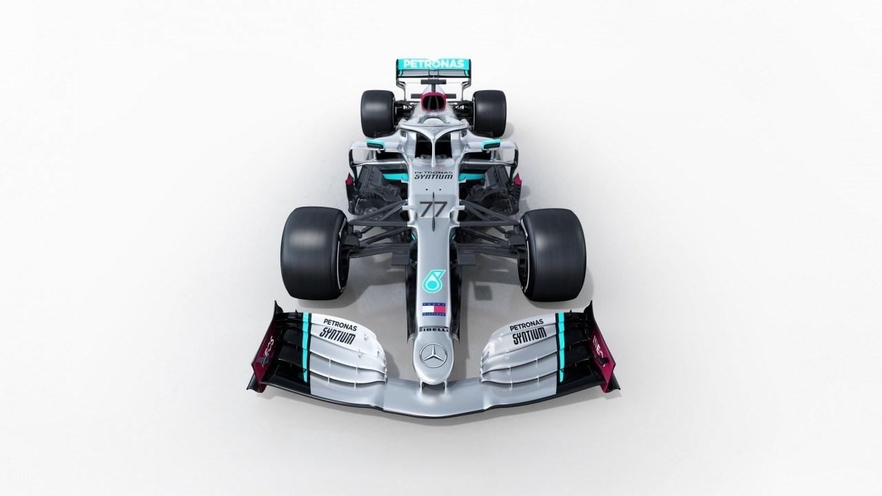 Así es el nuevo Mercedes W11 de Hamilton y Bottas para 2020
