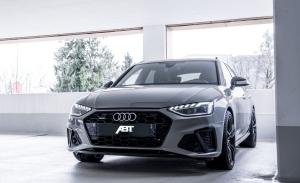 ABT ofrece mejoras estéticas y de prestaciones en los Audi A4 y A4 Avant 2020