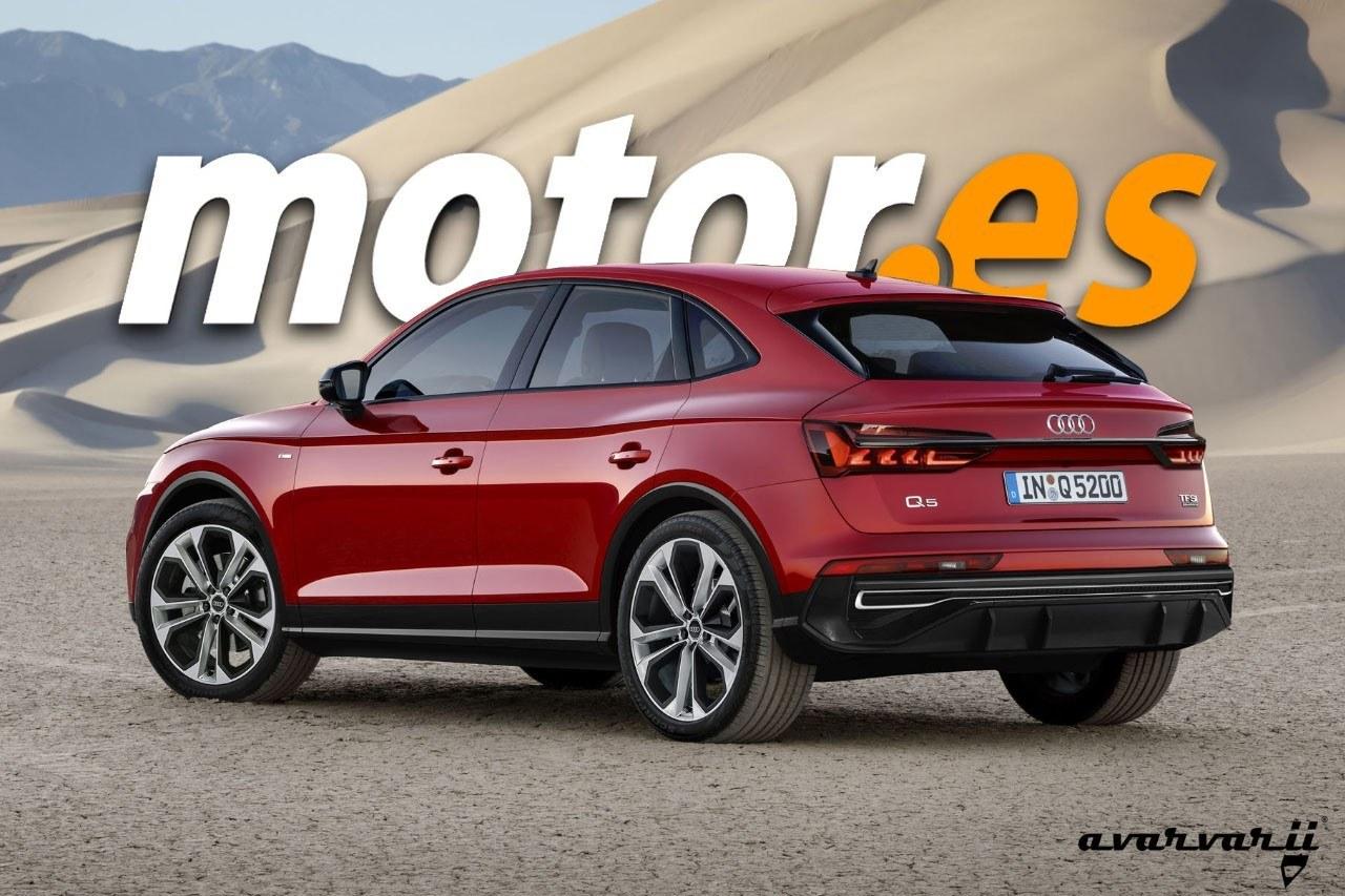 Audi Q5 Sportback La Sorpresa Temida Por El Bmw X4 Y Mercedes Glc Coupé Motor Es