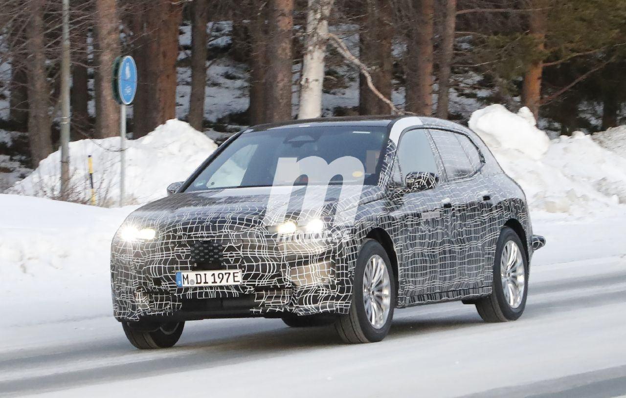 BMW continúa con las pruebas de invierno del nuevo SUV eléctrico iNext