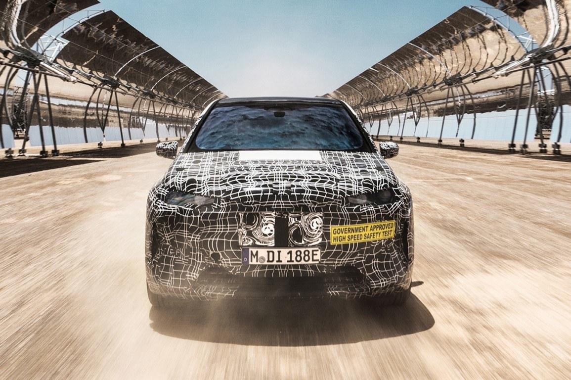 Las prototipos del BMW iNext se someten a intensas pruebas off-road en Sudáfrica