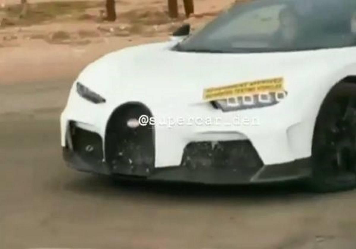 ¿Bugatti Chiron Superleggera? Misterioso prototipo avistado hace saltar todas las alarmas