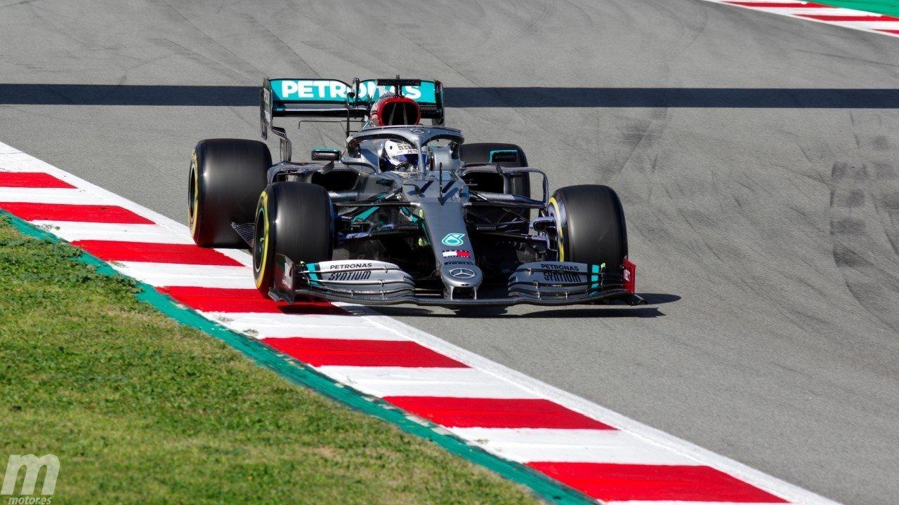 Bottas termina el último día de test en cabeza ante un veloz Verstappen