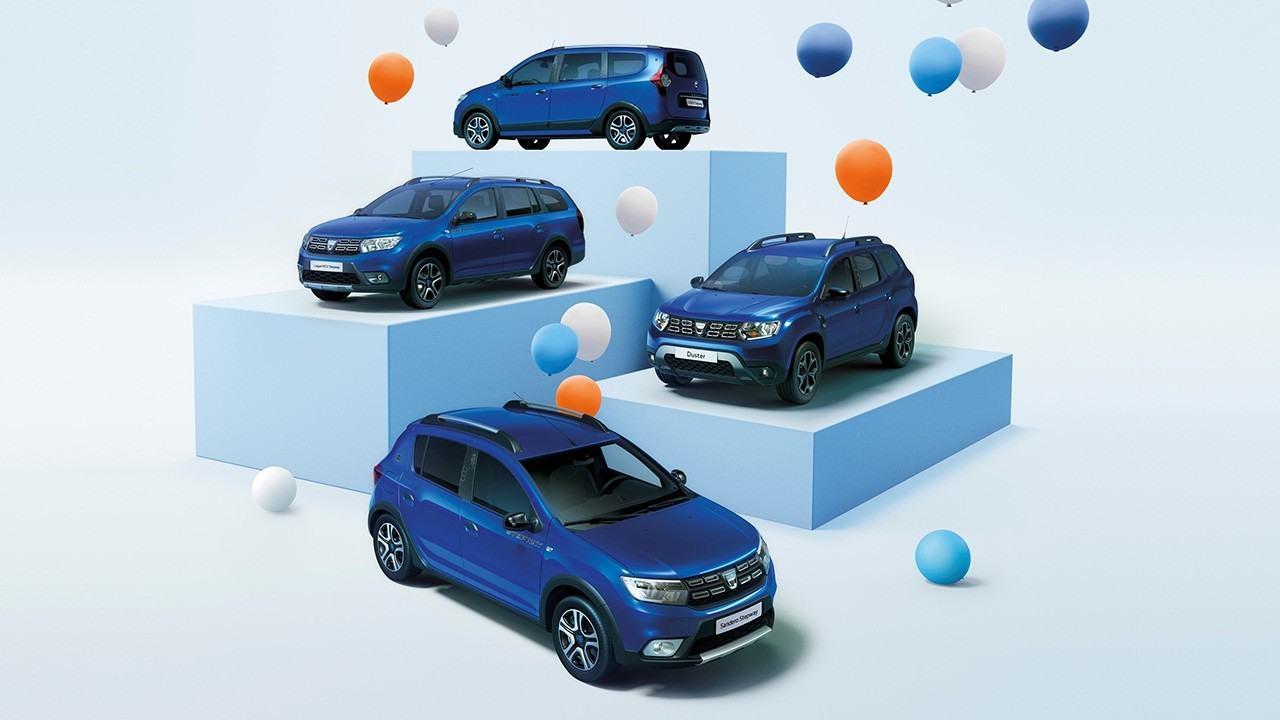 Dacia celebra en Europa su 15 aniversario con la edición especial «15 Years»
