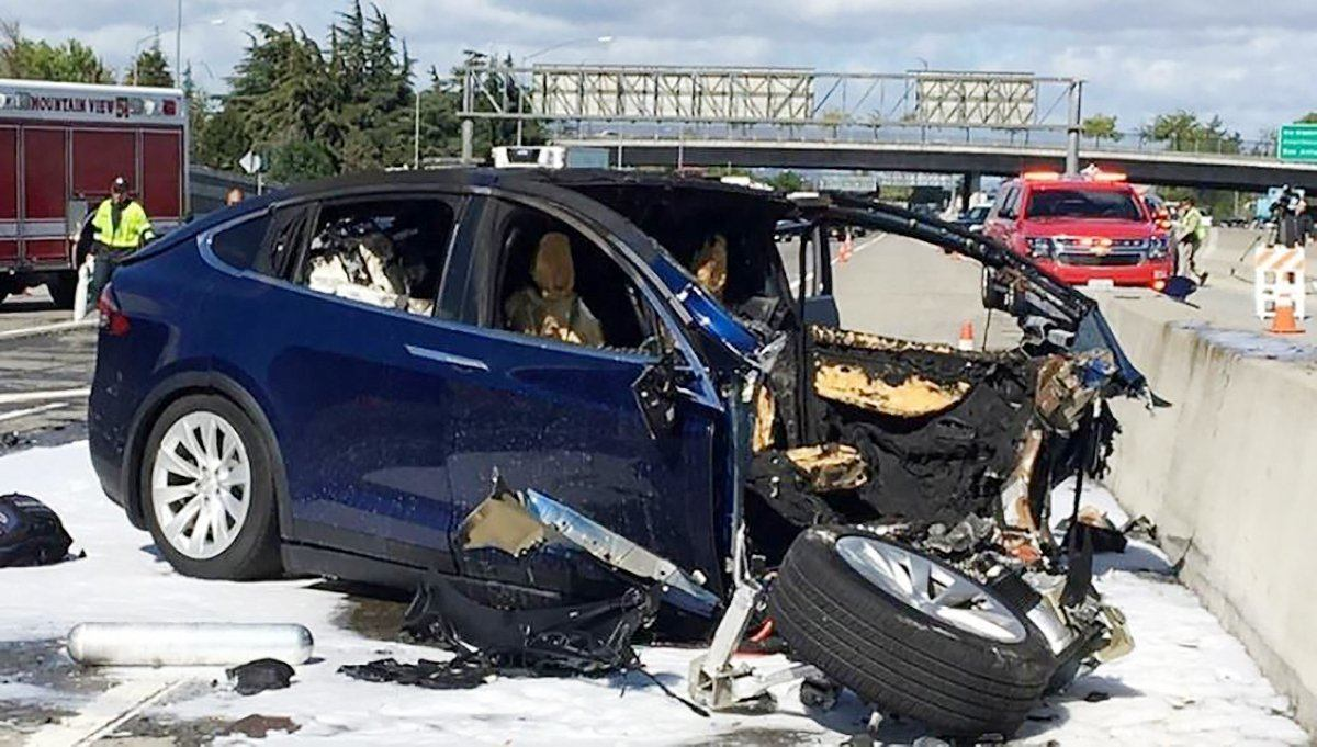 Emergen detalles del primer accidente mortal de un Tesla Model X con Autopilot
