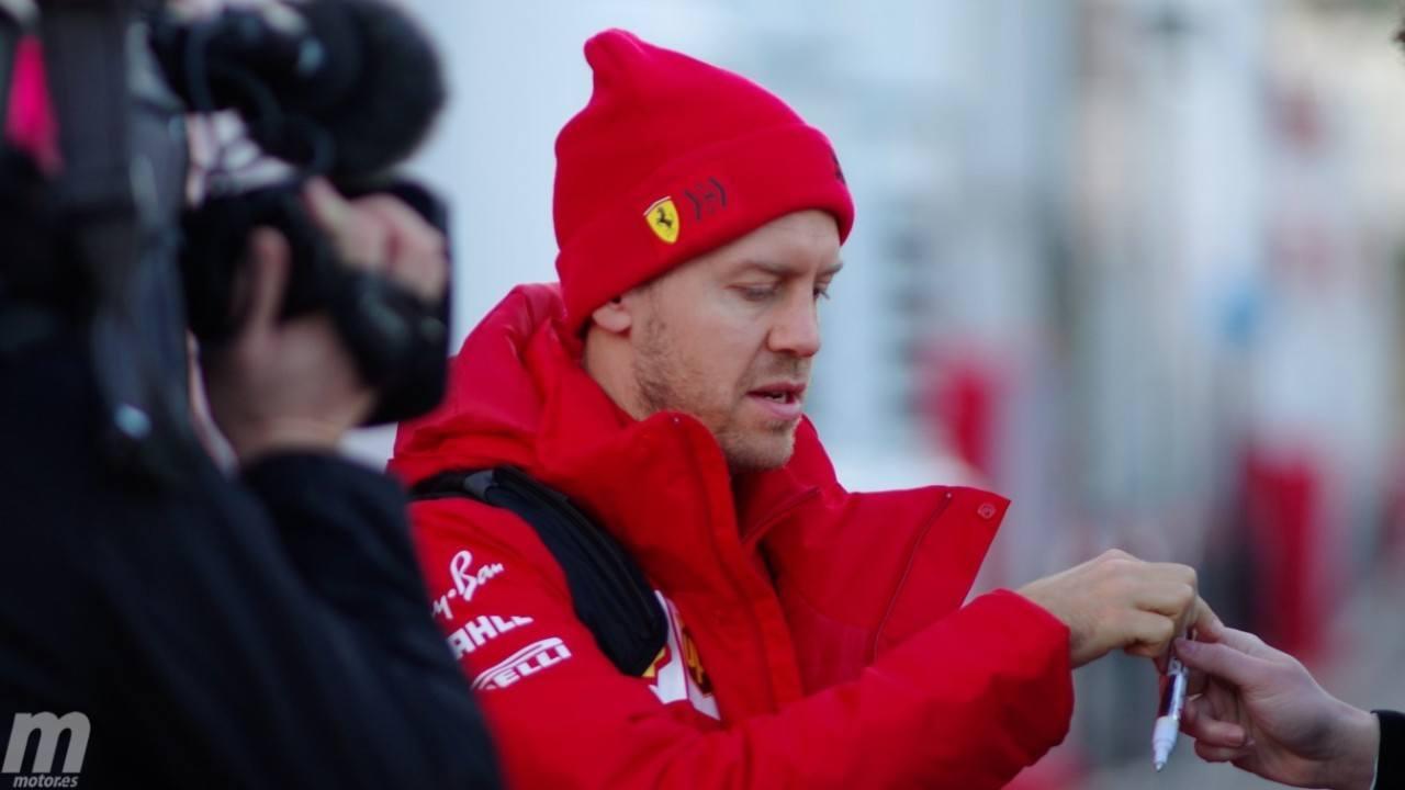 Ferrari ya habla de renovar con Vettel: «Estoy seguro de que llegaremos a un acuerdo»