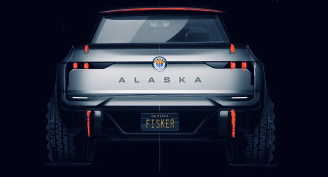 "Fisker filtra ""sin querer"" la primera imagen del nuevo Alaska pick-up"