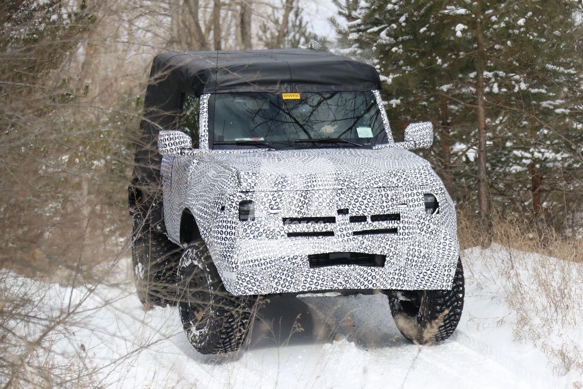 Las primeras imágenes del Ford Bronco de 2 puertas