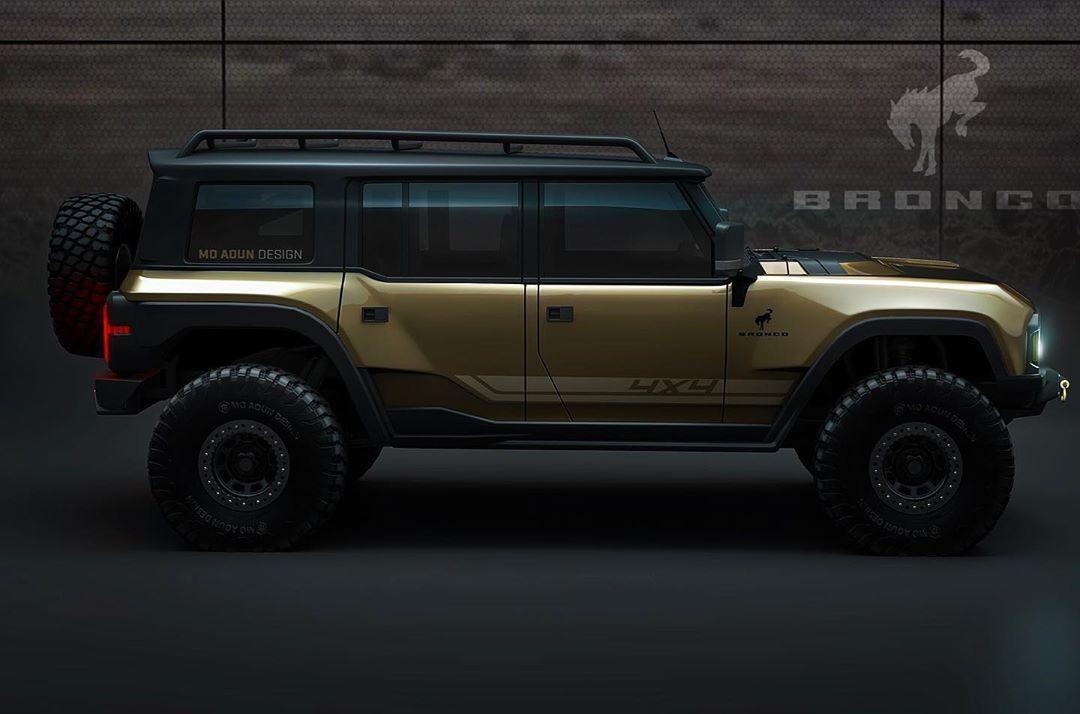 El Ford Bronco llegará al mercado con el V6 EcoBoost de 2.7 litros