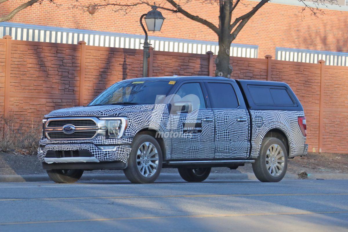 El nuevo Ford F-150 Hybrid ya se pasea ligero de camuflaje