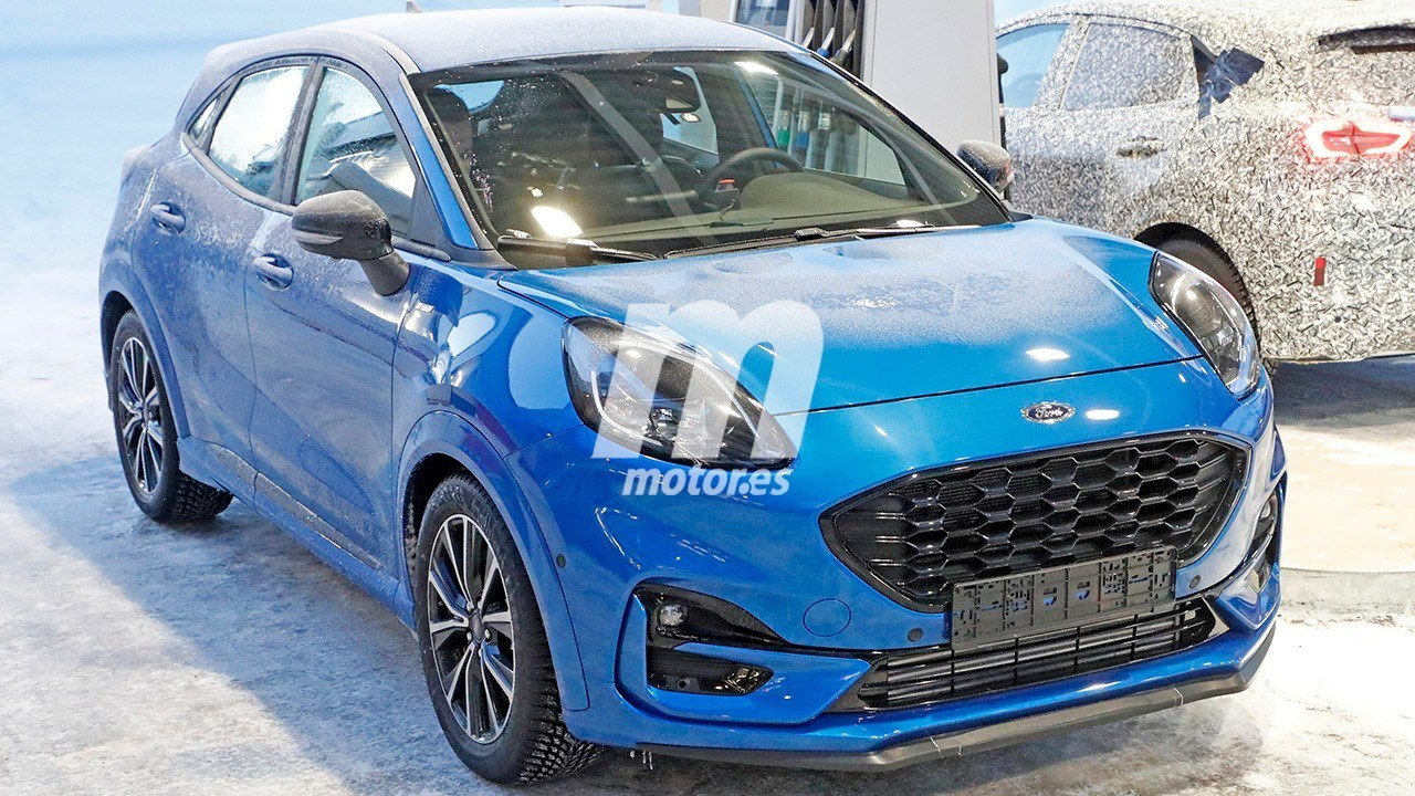 El nuevo Ford Puma ST ha sido cazado totalmente al descubierto