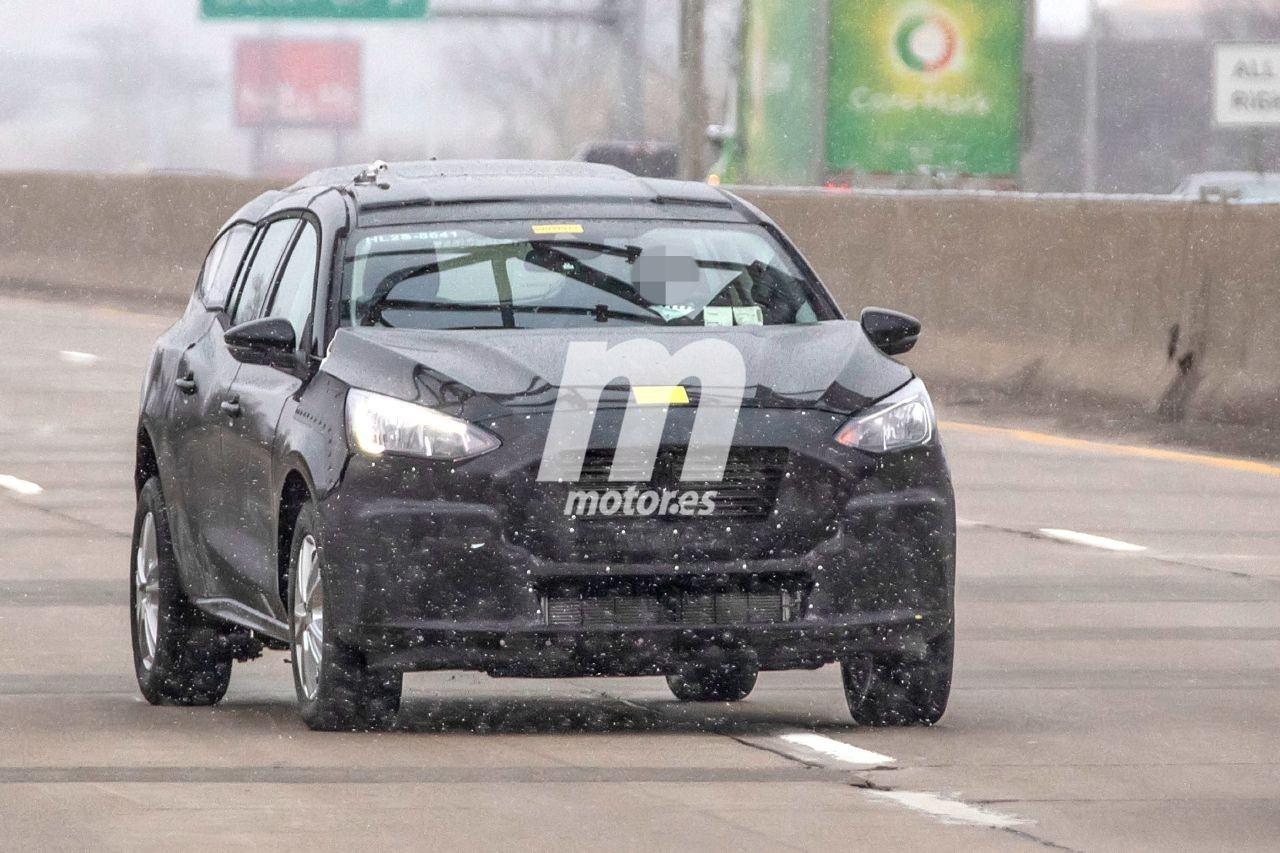 Nuevas fotos espía desvelan la mula que utiliza Ford para el nuevo Transit Connect