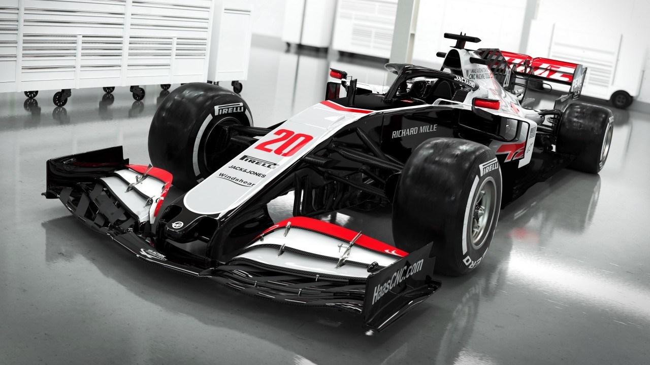 Haas se adelanta y presenta su monoplaza de 2020: el VF-20