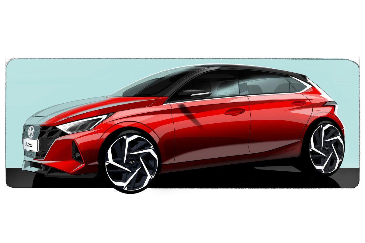 Hyundai adelanta un teaser del nuevo i20, que debutará en Salón de Ginebra 2020