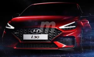 El nuevo Hyundai i30 2020 se deja entrever en este adelanto oficial