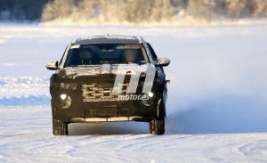 El nuevo Hyundai Santa Cruz 2021, cazado en las pruebas de invierno en Laponia