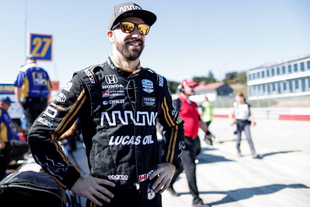 James Hinchcliffe ocupa en Andretti la vacante de Alonso en la Indy 500