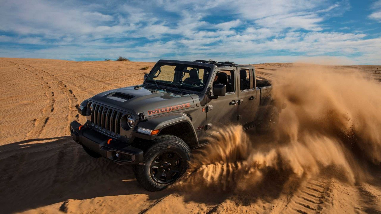 Jeep Gladiator Mojave: la versión off-road más poderosa del pick-up
