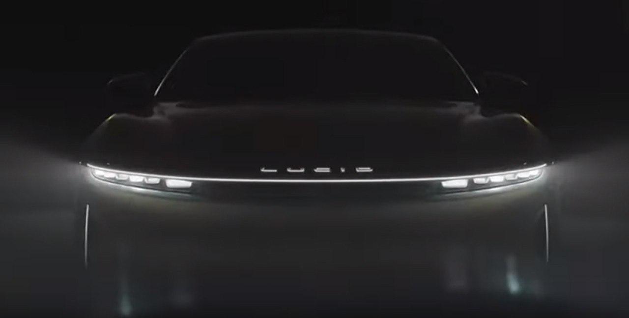 El nuevo eléctrico Lucid Air, anunciado con un teaser para el Salón de Nueva York 2020