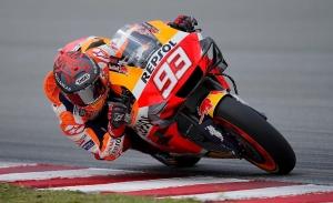 Marc Márquez, más preocupado por la Honda que por su condición física