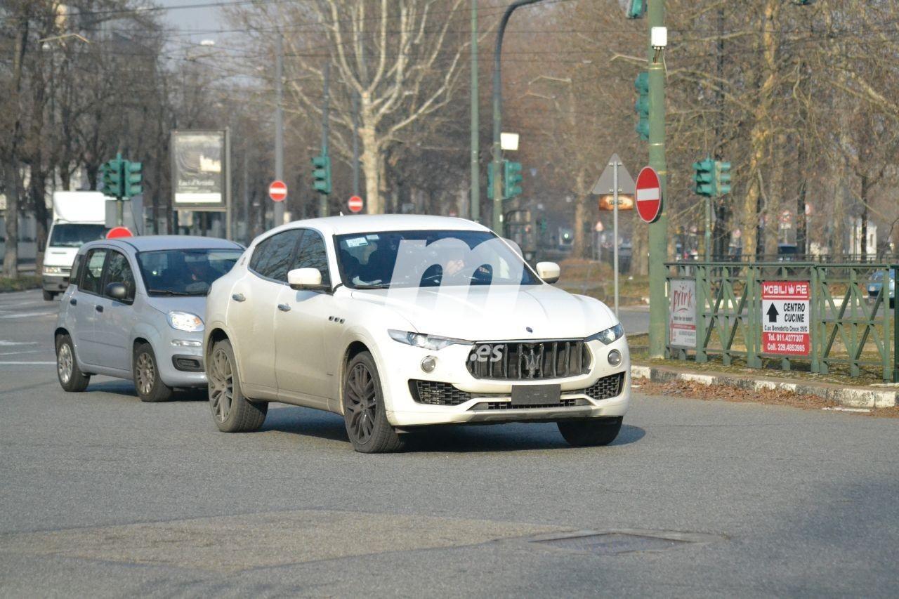 Maserati prueba mejoras técnicas para el Levante 2021