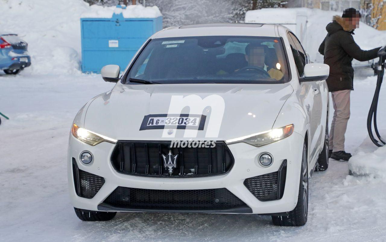Nuevas fotos espía del Maserati Levante Trofeo confirman un nuevo motor para 2021