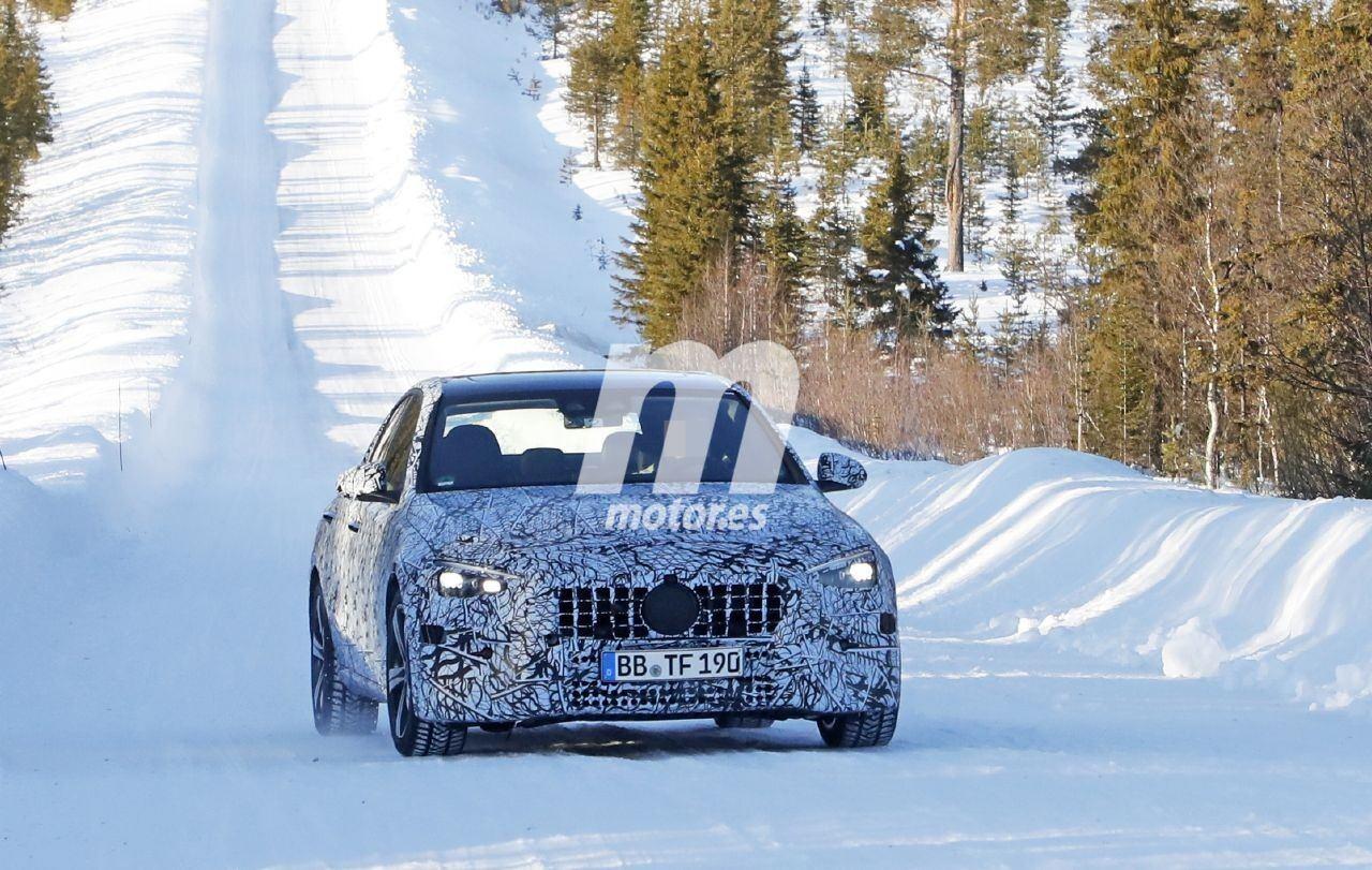 Nuevas fotos espía delatan las primeras pruebas del futuro Mercedes-AMG C 43 4MATIC