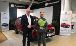Morris Garage inicia las entregas del MG ZS EV en Noruega