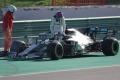 Vettel lidera y el motor de Hamilton tose en el penúltimo día de test