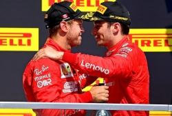 Según Binotto, a Ferrari no le preocupa «en absoluto» la rivalidad Vettel - Leclerc