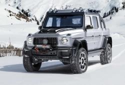 Brabus 800 Adventure XLP: nuevo y brutal pick-up off-road del Clase G