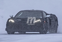 Los prototipos del futuro Chevrolet Corvette Z06 cazados en vídeo