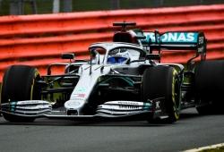 El debut del Mercedes W11 en Silverstone, en vídeo